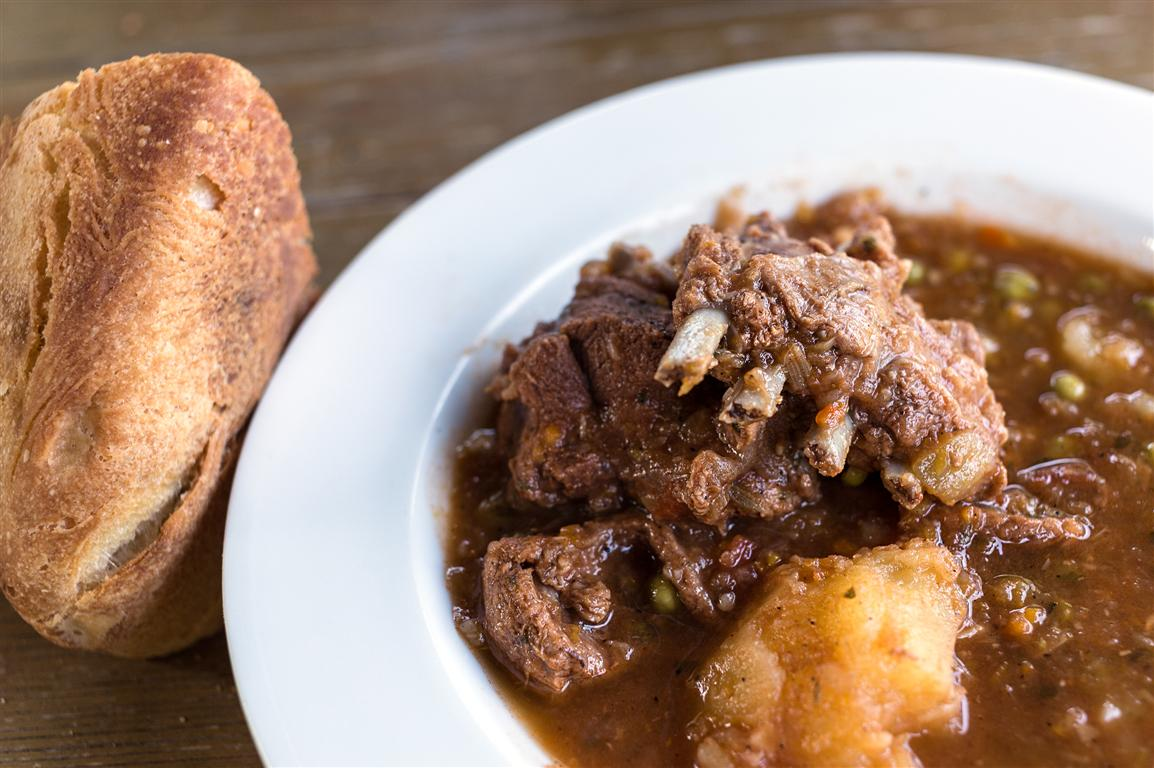 For meat lovers, Venison stew
